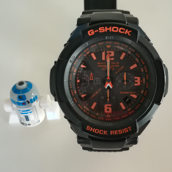 factory authentic 985cc 620c1 Casio G-Shock GW-3000B Solar Watch
